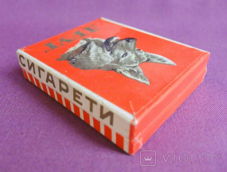 Пачка от сигарет ДРУГ Львовская табачная фабрика ГОСТ 1958 г., фото №5