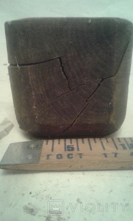 Деревянная-ступка-вес-900гр, фото №4