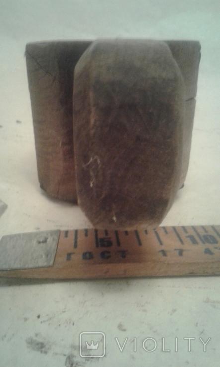 Деревянная-ступка-вес-900гр, фото №5