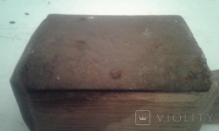 Деревянная-ступка-вес-900гр, фото №7