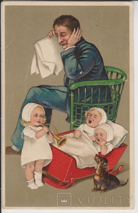 Юмор. Дети и такса., фото №2