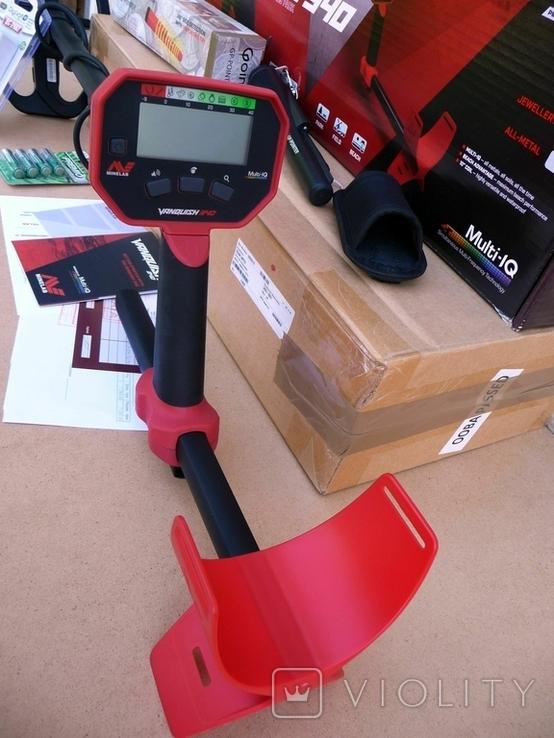 Металлоискатель Minelab Vanquish 340 + Пинпоинтер + АКБ 8 шт.+зарядное, фото №3
