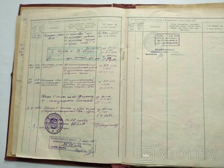 Личное дело Дудоров Войска связи, фото №11