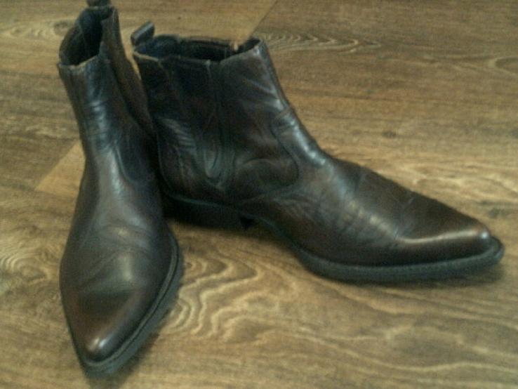 Porto Leone - фирменные кожаные ботинки разм.40, фото №9