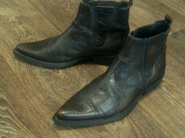 Porto Leone - фирменные кожаные ботинки разм.40, фото №10