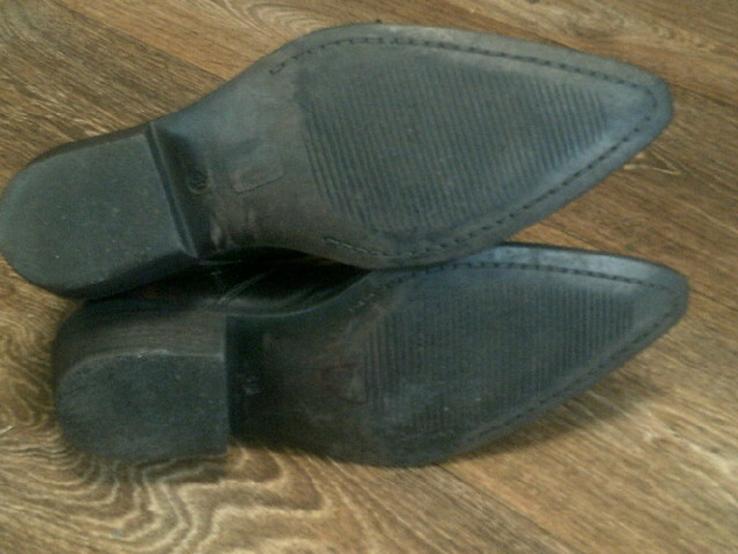 Porto Leone - фирменные кожаные ботинки разм.40, фото №12