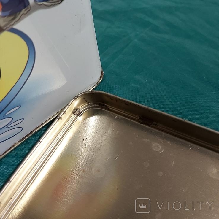 Коробка металлическая Несквик, фото №5