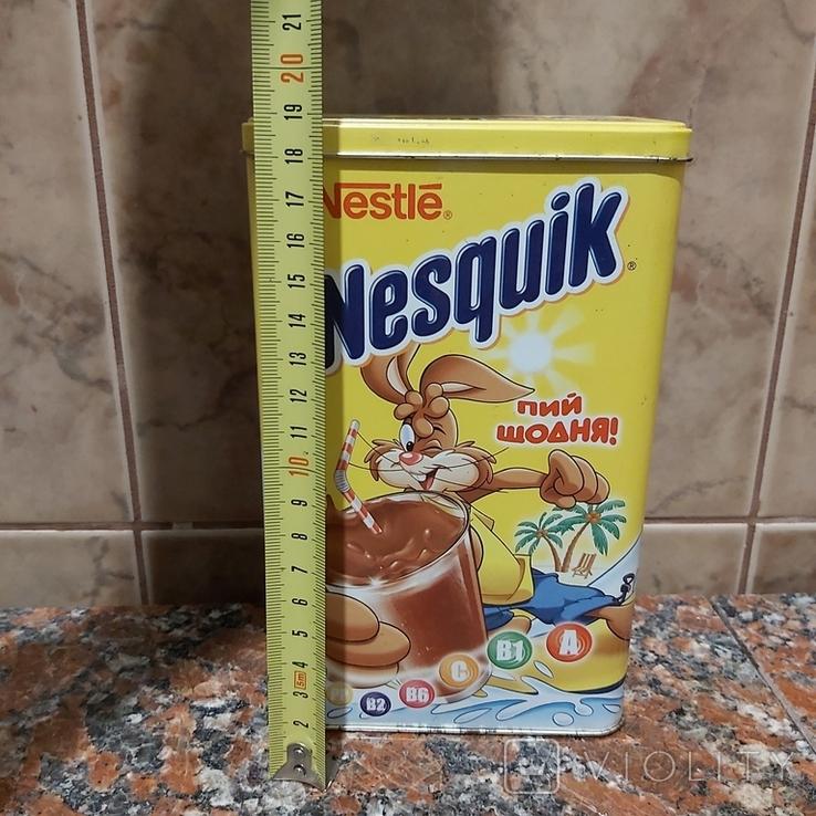 Коробка металлическая Несквик, фото №10