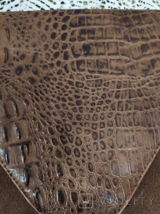 Клатч из крокодильей кожи, фото №4
