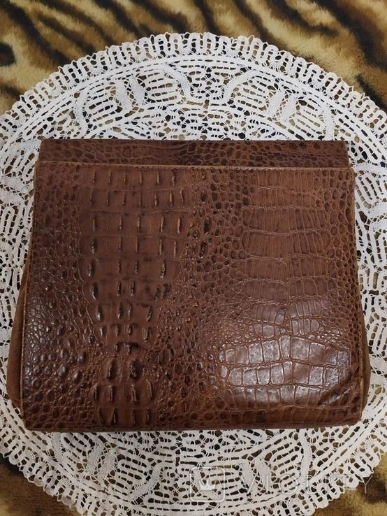 Клатч из крокодильей кожи, фото №5