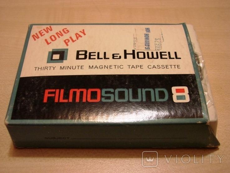 Аудиокассета Bell&Howell для записи звука при видеосъемке, фото №2