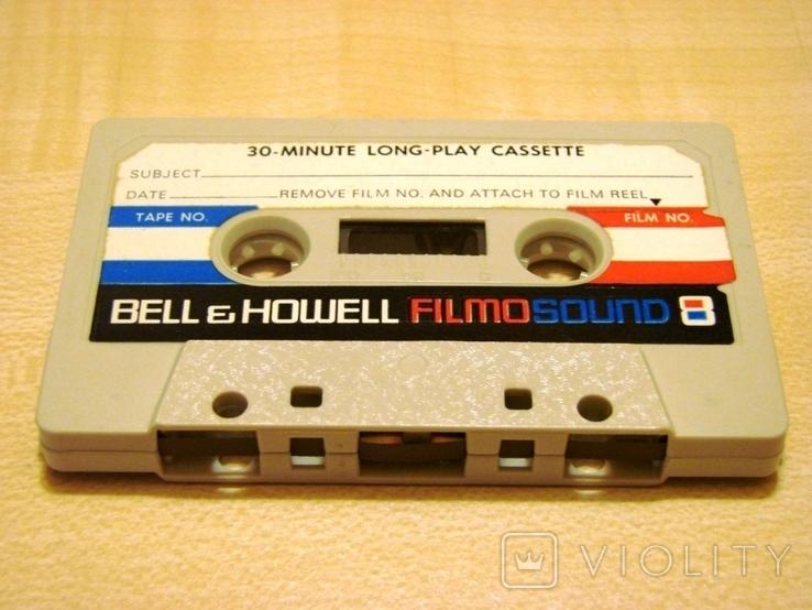 Аудиокассета Bell&Howell для записи звука при видеосъемке, фото №5