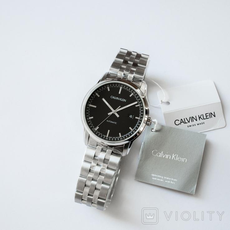 Часы мужские Calvin Klein - Swiss Made механика, ЕТА 2824-2, фото №3