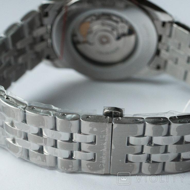 Часы мужские Calvin Klein - Swiss Made механика, ЕТА 2824-2, фото №6