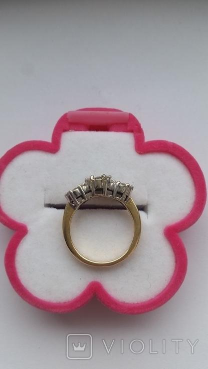 Кольцо. Золото бриллианты, фото №4