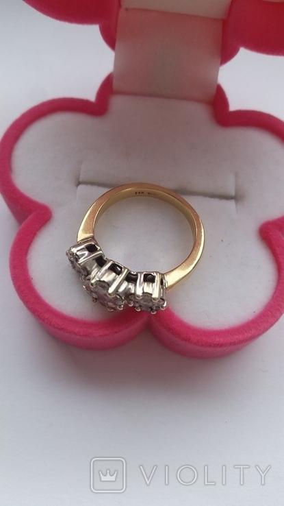 Кольцо. Золото бриллианты, фото №7