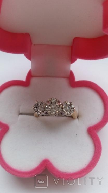 Кольцо. Золото бриллианты, фото №8
