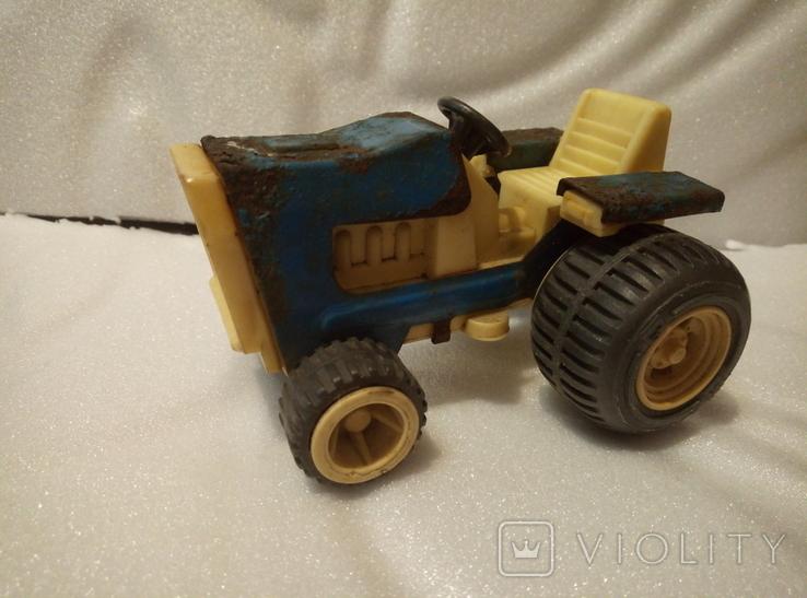 Трактор петруша. Игрушка производство ссср., фото №2