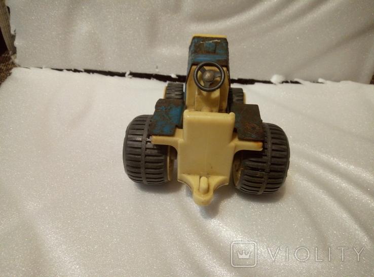 Трактор петруша. Игрушка производство ссср., фото №4