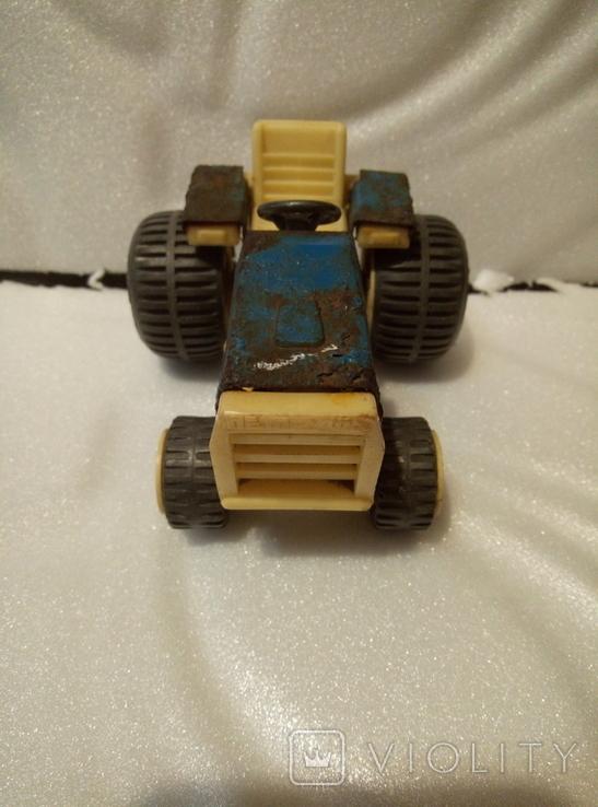Трактор петруша. Игрушка производство ссср., фото №5