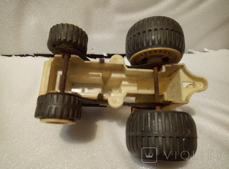 Трактор петруша. Игрушка производство ссср., фото №6