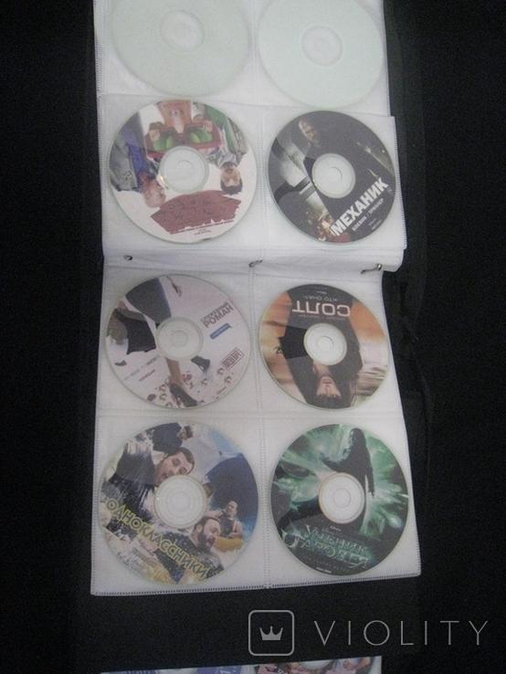 Альбом с дисками 66 штук (фильмы, музыка), фото №4