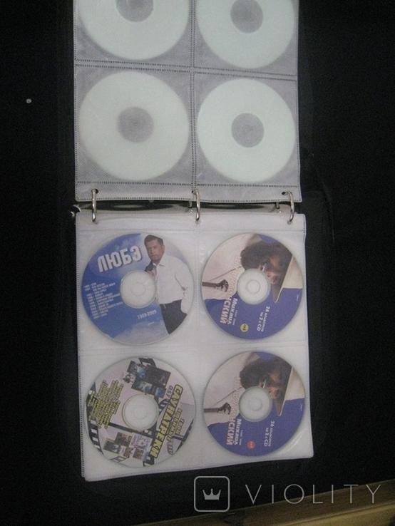 Альбом с дисками 66 штук (фильмы, музыка), фото №7