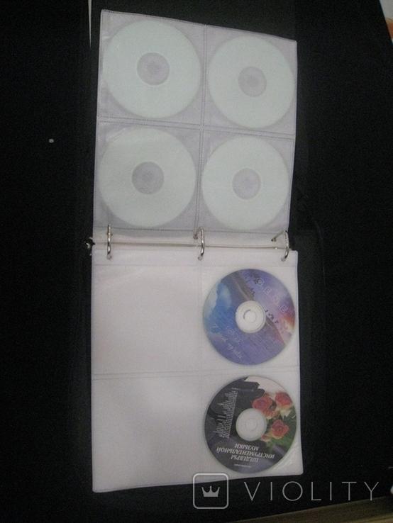 Альбом с дисками 66 штук (фильмы, музыка), фото №8