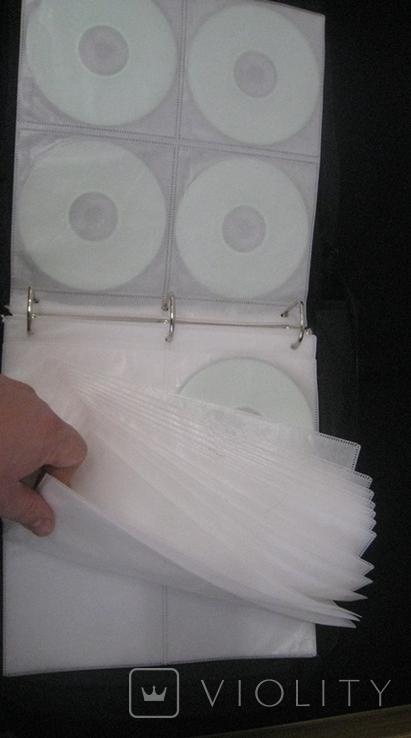 Альбом с дисками 66 штук (фильмы, музыка), фото №9