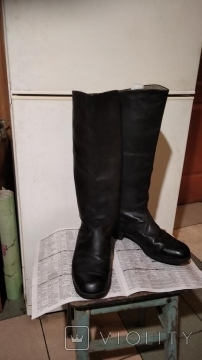 Сапоги хромовые 40 размер, фото №2