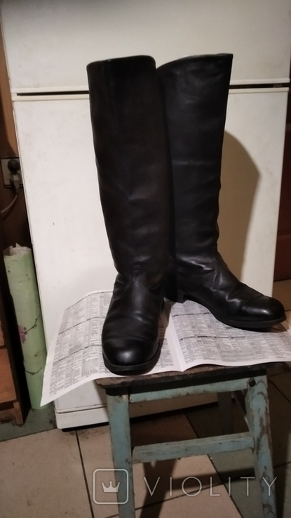 Сапоги хромовые 40 размер, фото №6
