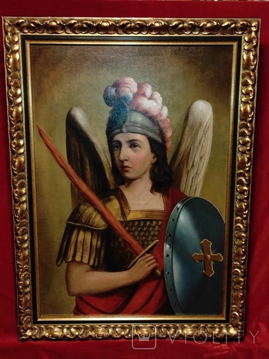 """Картина """"Святой Михаил"""",кон.18-нач.19 века, фото №2"""