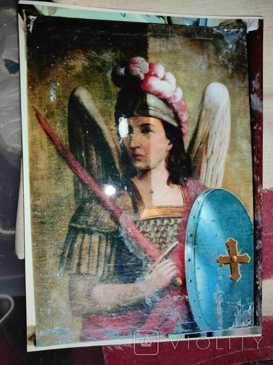 """Картина """"Святой Михаил"""",кон.18-нач.19 века, фото №10"""
