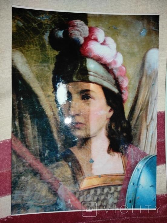 """Картина """"Святой Михаил"""",кон.18-нач.19 века, фото №11"""