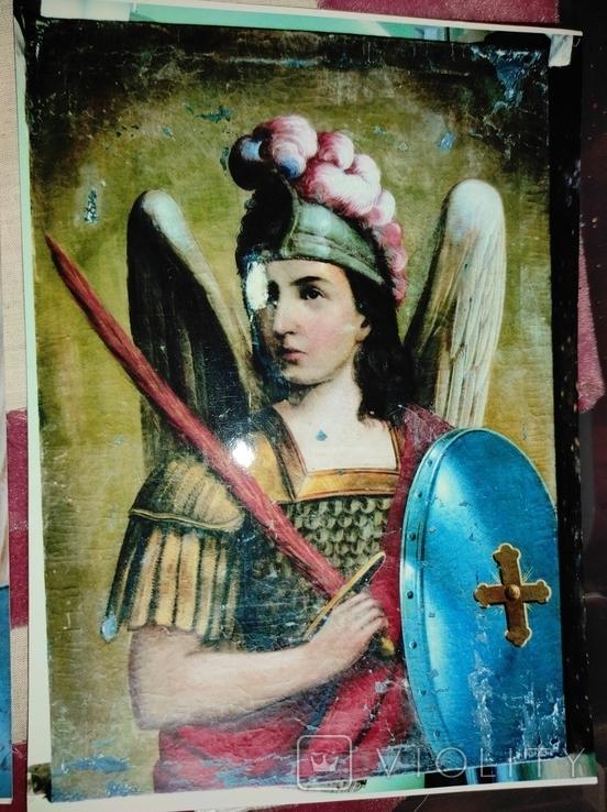"""Картина """"Святой Михаил"""",кон.18-нач.19 века, фото №12"""