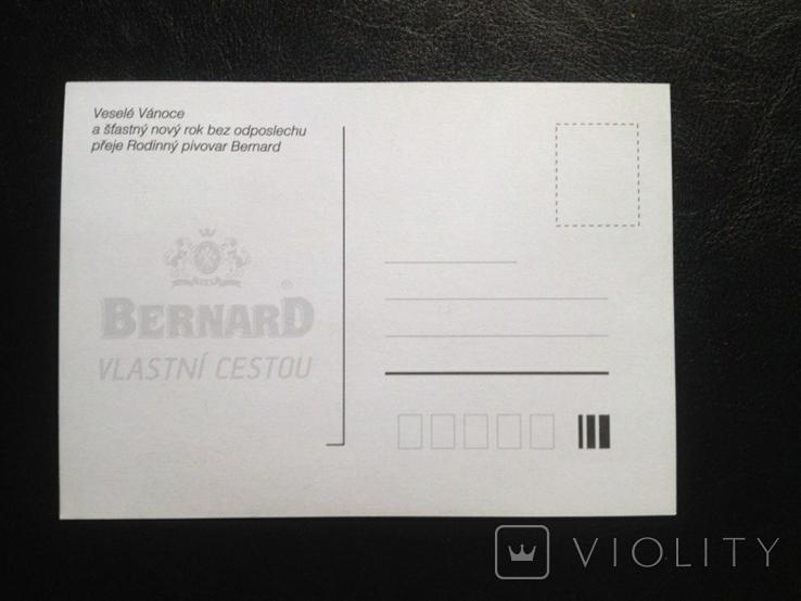 Открытка к Рождеству от пивного бренда Bernard (Чехия), фото №3