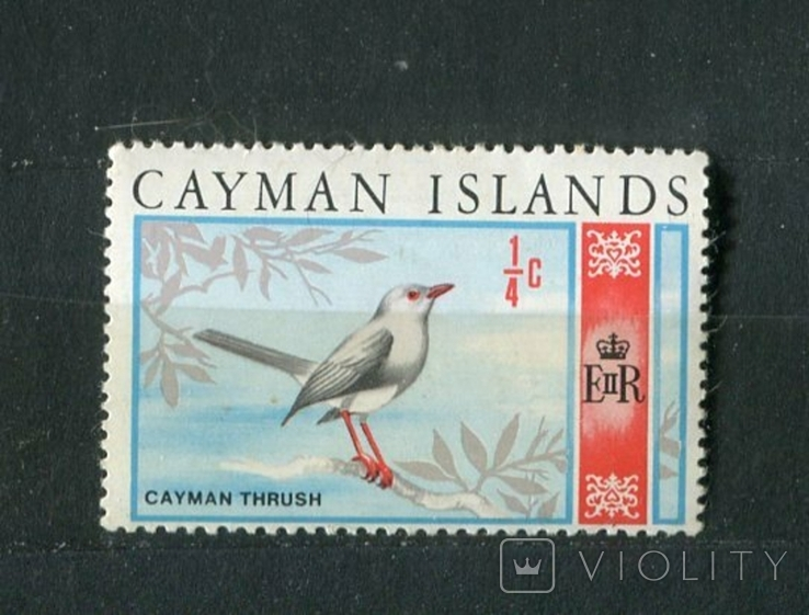 Британские колонии, Каймановы о-ва, птица. MH 1969 г., фото №2