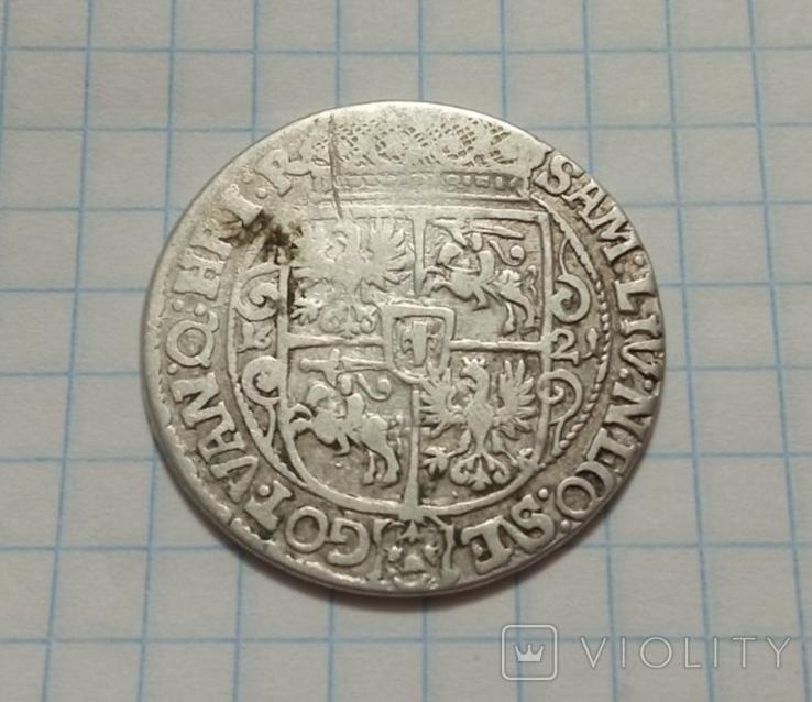 Орт коронный. 1621 г., фото №2
