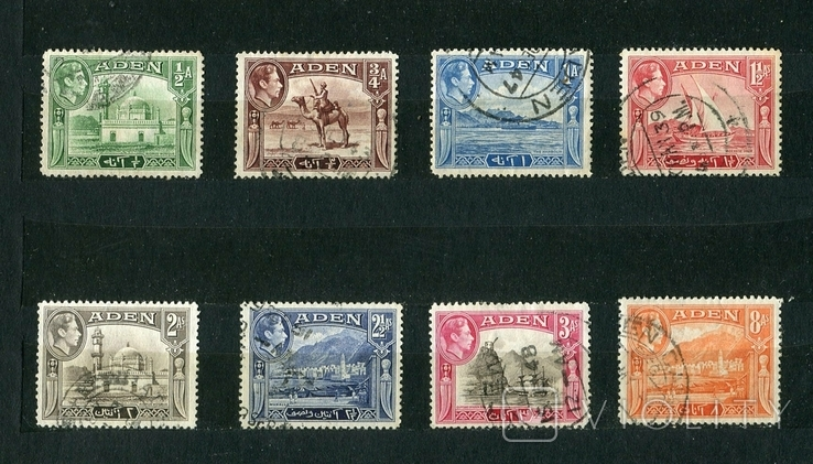 Британские колонии, Аден. 1939 г. Георг VI, фото №2