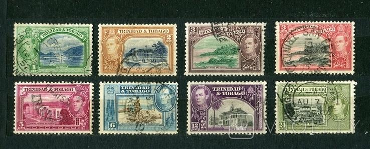 Британские колонии, Тринидад и Тобаго. 1938 г. Георг VI, фото №2
