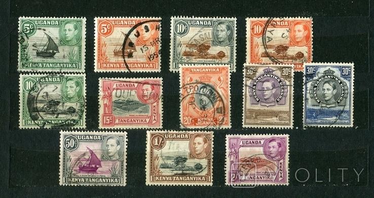 Британские колонии, КУТ, 1938-54 г. Георг VI, фото №2