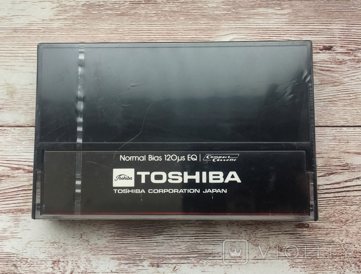 Аудиокассета TOSHIBA C-90T, фото №3