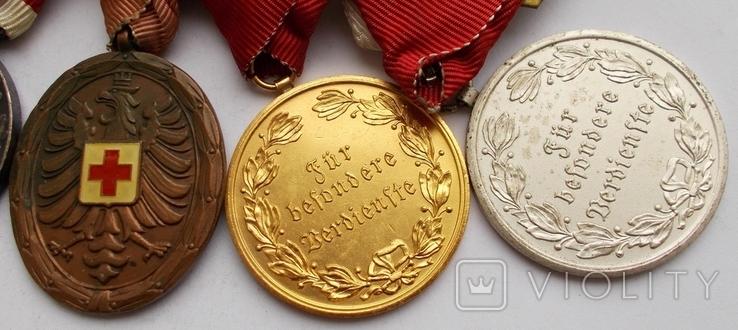 Комплект медалей на ветерана Первой мировой войны., фото №4