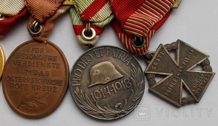 Комплект медалей на ветерана Первой мировой войны., фото №7
