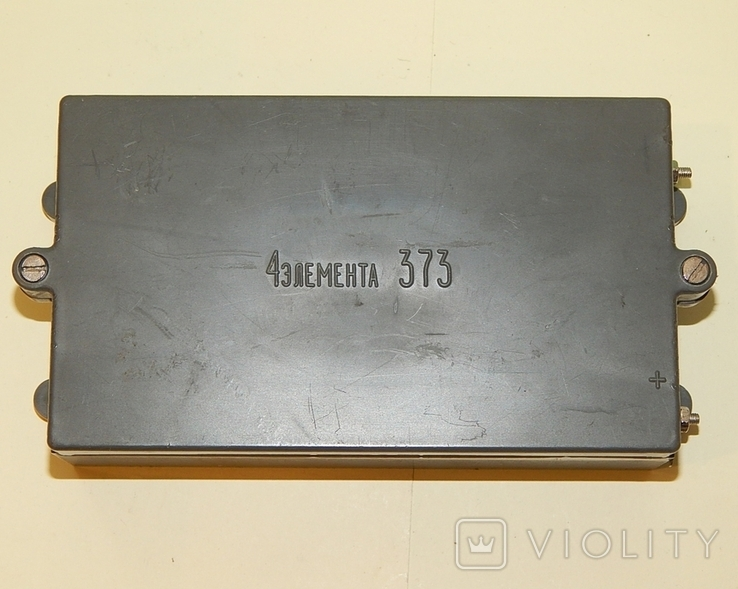 Коробка СССР для 4 батареек элемент 373-R20, фото №2