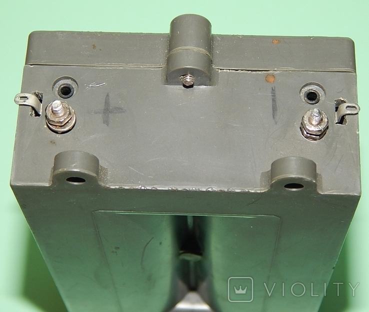 Коробка СССР для 4 батареек элемент 373-R20, фото №6