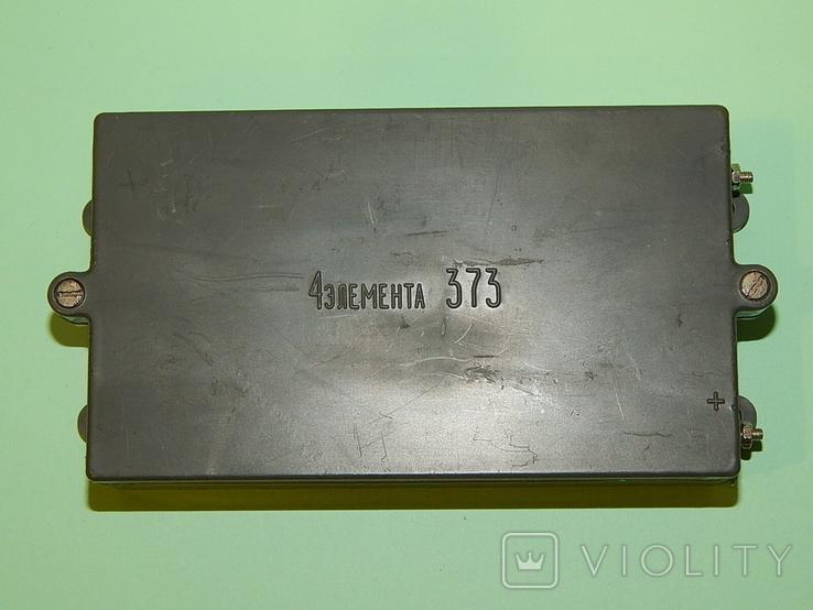 Коробка СССР для 4 батареек элемент 373-R20, фото №9