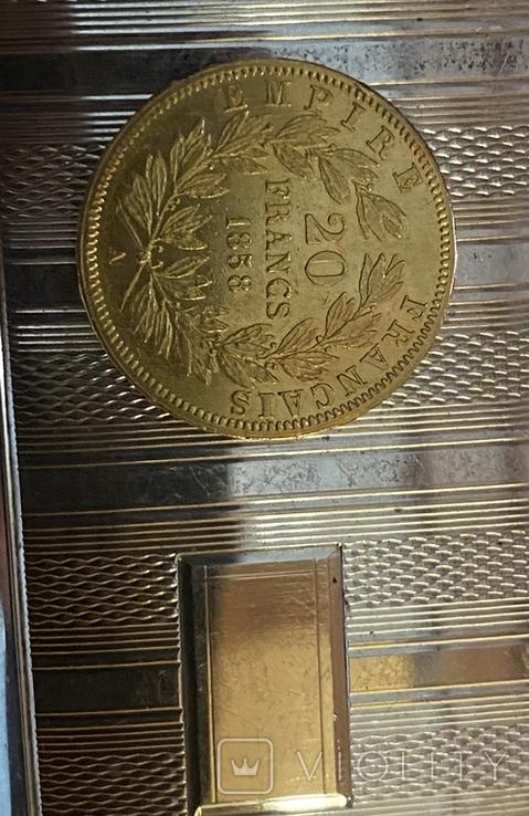 Франція 40 франков 1811г.20франков1858г., фото №8
