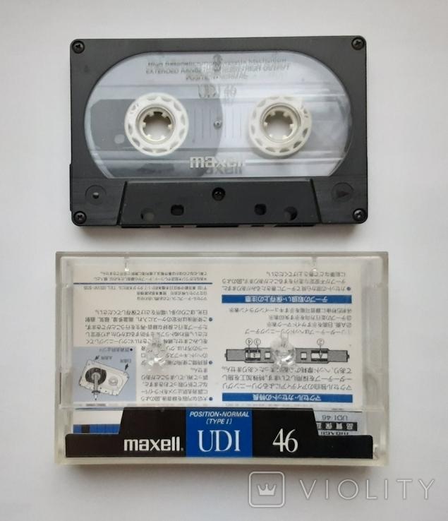 Аудиокассета Maxell UDI 46 (Jap), фото №2