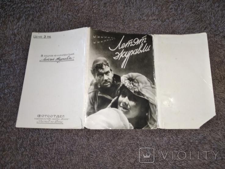 Кадры из кинофильма Летят журавли 1957 г, фото №4